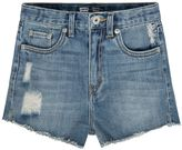 Levi's Girls 7-16 High-Waisted Vintage Waters Denim Shortie Shorts