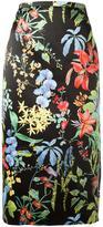 Rochas floral print pencil skirt - women - Polyester - 40