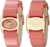 Salvatore Ferragamo Women's FIE020015 VARINA Analog Display Quartz Orange Watch