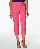 Charter Club Scallop-Hem Pique Capri Pants, Created for Macy's