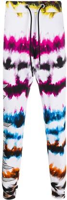 Philipp Plein Tie-Dye Track Pants