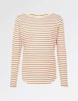 Fat Face Multi Stripe Breton T-Shirt