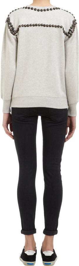 Current/Elliott The Ankle Legging Skinny Jeans - WASHED BLACK