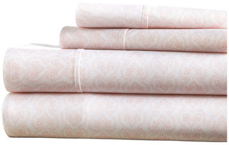 IENJOY HOME Home Collection Premium Ultra Soft Classic Pink 4-Piece Bed Sheet Set,