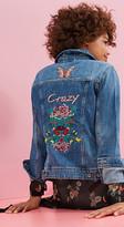 Esprit EDC - Denim jacket + elaborate embroidery