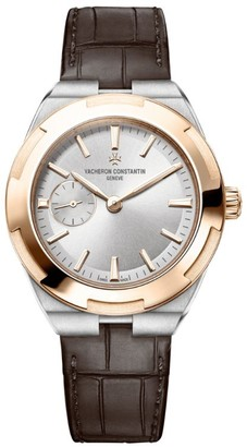 Vacheron Constantin Rose Gold and Stainless Steel Overseas Self-Winding Watch 37mm