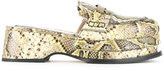 No.21 snakeskin effect sandals - women - Leather - 36