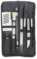 Picnic at Ascot 9-Piece Stainless Steel BBQ Set with Case