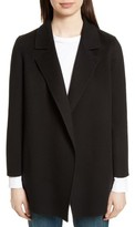 Theory Women's Clairene New Divide Wool & Cashmere Open Front Topper