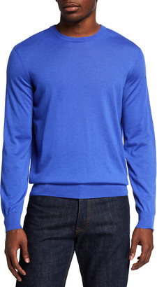 Ralph Lauren Purple Label Men's Solid Cashmere Sweater