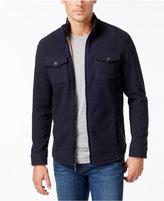 Tasso Elba Men's Fleece Twill Jacket, Only at Macy's