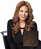 Hair U Wear Human Hair Grand Entrance by Raquel Welch Wigs Lace Front Monofilament Top - R3HH Dark Brown