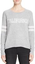 Aqua Cashmere California Crewneck Cashmere Sweater