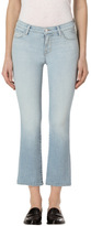 J Brand Selena Mid-Rise Crop Boot Cut in Starstruck