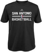 adidas Boys' San Antonio Spurs Practice Wear Graphic T-Shirt