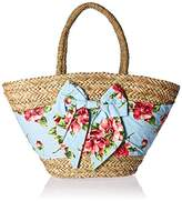Jessie Steele Magnolias Seagrass Beach Bag
