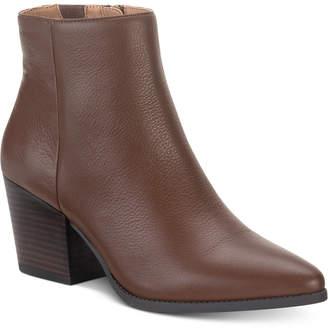 American Rag Eryn Leather Booties, Women Shoes