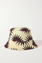 Thumbnail for your product : Dries Van Noten Printed Cotton-terry Bucket Hat - Green