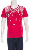 Versace Shuriken Crew Neck T-Shirt w/ Tags