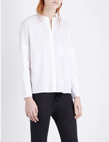 James Perse Relaxed stretch-cotton shirt
