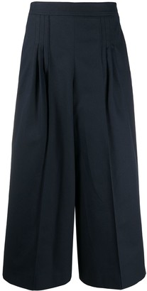 Loewe Cropped Culotte Trousers