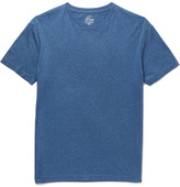 J.Crew Broken-in Slim-fit Mélange Cotton-jersey T-shirt