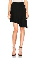 Thierry Mugler Asymmetrical Pleated Skirt
