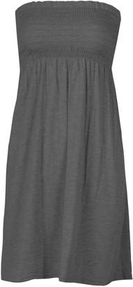 Unkown Women's Sheering Boobtube Bandeau Strapless/Sleeveless Plain Top Ladies Sexy Summer Beach Dress Top Casual Wear Size 8-22 (M/L 12-14