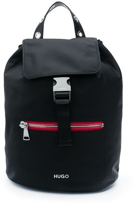 HUGO BOSS Contrast Zip Small Backpack
