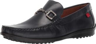 Marc Joseph New York Men's Grainy Leather Carneige Hill Buckle Loafer