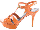 Saint Laurent Patent Classic Tribute 75 Sandals