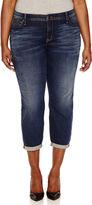 Boutique + + Modern Fit Straight Leg Jeans-Plus