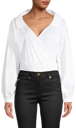 Milly Surplice Bodysuit