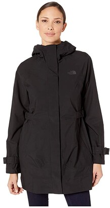 The North Face City Breeze Rain Trench (TNF Medium Grey Heather) Women's Coat
