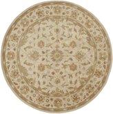 Surya CRN6011-8RD Beige Crowne Collection Rug - 8 Ft Round