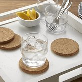 Crate & Barrel Set of 4 Cork Coasters