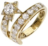 Chanel 18K Yellow Gold Comet Diamond Ring 6.25