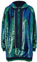 Mira Mikati Oversized Sequin Hoodie