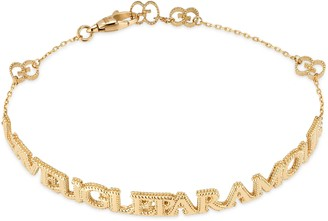 """Gucci """"L'Aveugle Par Amour"""" bracelet"""