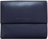Salvatore Ferragamo Purple Leather Wallets