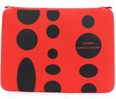 Comme des Garcons polka dot laptop pouch - men - Neoprene/Nylon - One Size