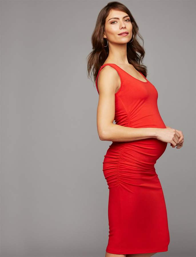 5a9d3ba9b0033 Isabella Oliver Ruched Dress - ShopStyle