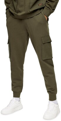 Topman Washed Cargo Joggers