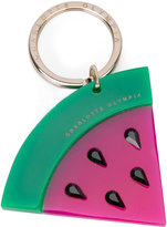 Charlotte Olympia watermelon keyring - women - Plexiglass/Methyl Methacrylate/glass - One Size