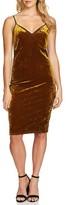 1 STATE Women's 1.state Velvet Body-Con Dress