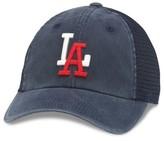American Needle Men's Raglan Bones Mlb Baseball Cap - Blue