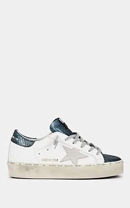 Golden Goose Women's Hi Star Leather Sneakers - White