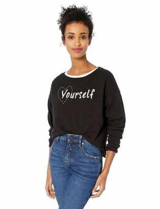 Jessica Simpson Women's Dasha Volume Sleeve Knit Top