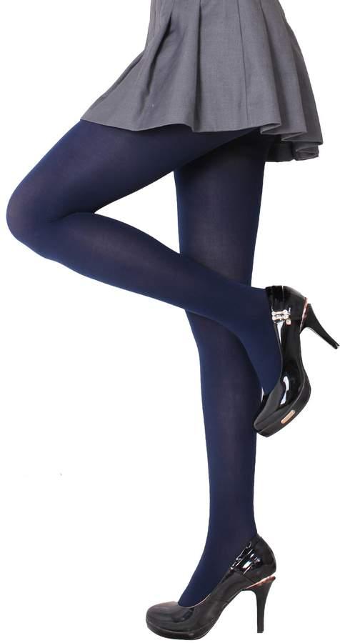 eec3b01ffdb Blue Opaque Tights - ShopStyle Canada