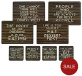 Kitchen Craft 8-Piece Placemats And Coaster Set